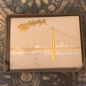 NWT Golden gate Christmas cards